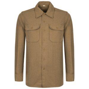 chemise-us-m37-moutarde-laine-repro