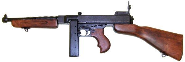MITRAILLETTE-THOMSON-M1928 - CHARGEUR-DROIT