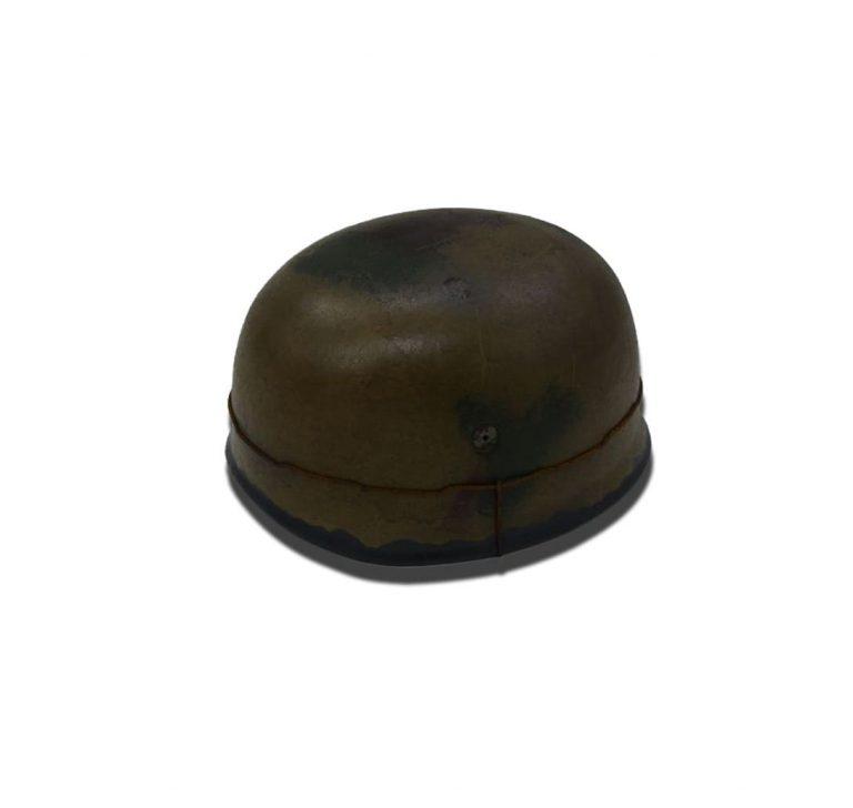casque-barbele-para-allemand-2eme-guerre-vieilli