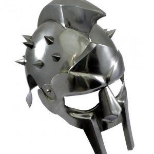 casque-gladiateur-avec-piques