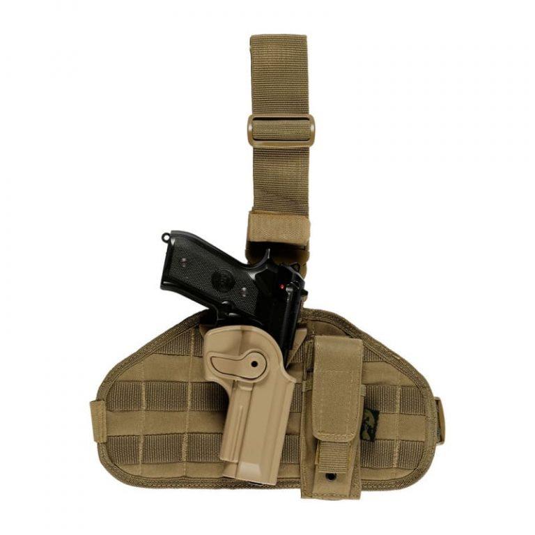 kit-holster-imi-plaque-de-cuisse-porte-chargeur