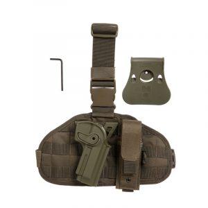 kit-holster-imi-plaque-de-cuisse-porte-chargeur-kaki