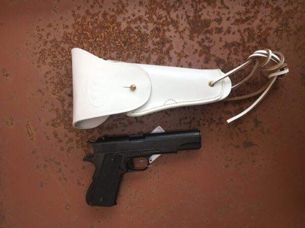 Holster-colt-45-blanc-neige