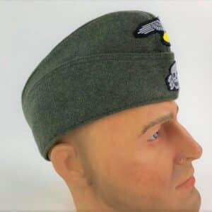 Calot-de campagne-mod 40-feldgrau-repro allemand-Waffen- SS (2)