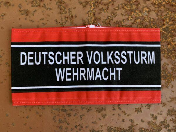 Brassard-Deutscher-Volkssturm-Wehrmach