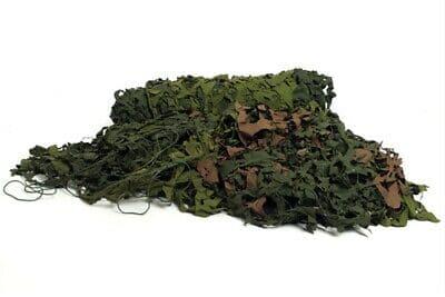 Suédois-Armée-de-Terre-Baracuda-Filet-Camouflage-Vert